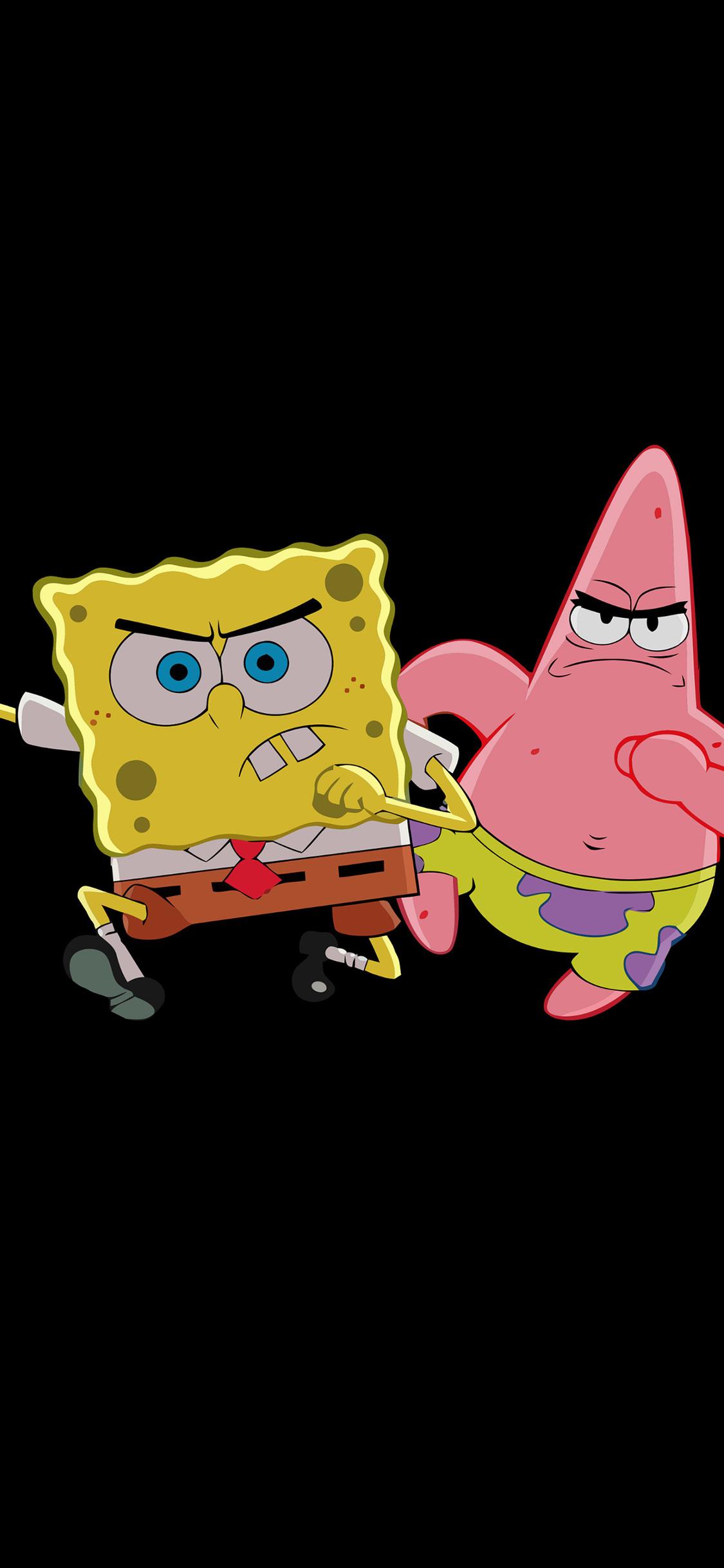 Patrick Star And Spongebob Spongebob Wallpaper Iphone X