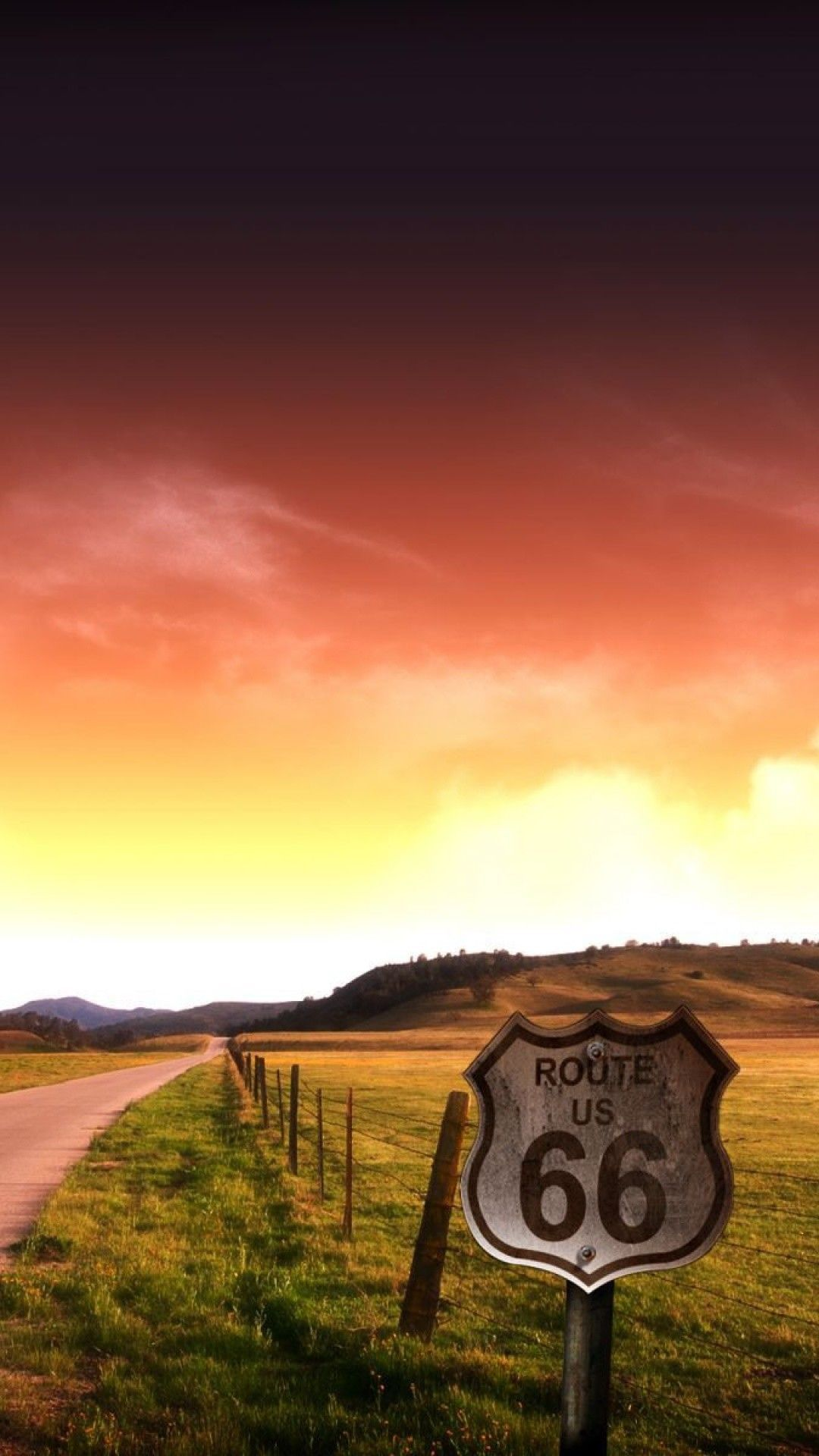 Supernatural Iphone Wallpapers Iphone X Wallpaper Route 66