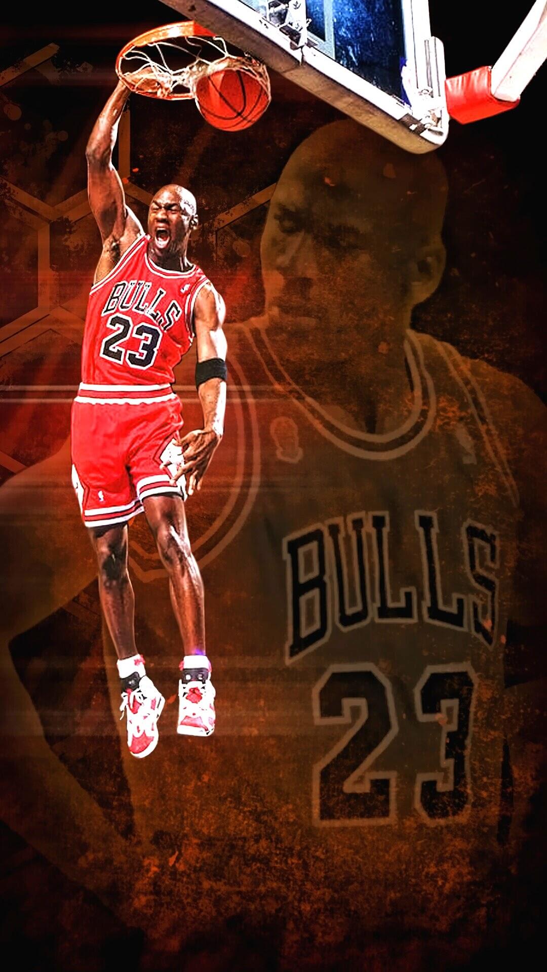 Michael Jordan Wallpaper For Iphone X 8 7 6 Free Download
