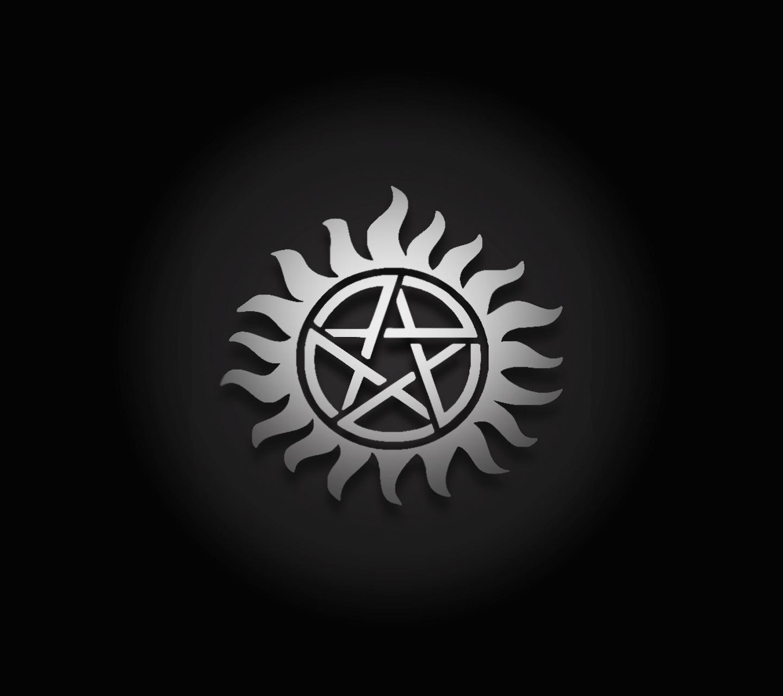 Hd Supernatural 4k Cover For Pc Anti Possession Symbol