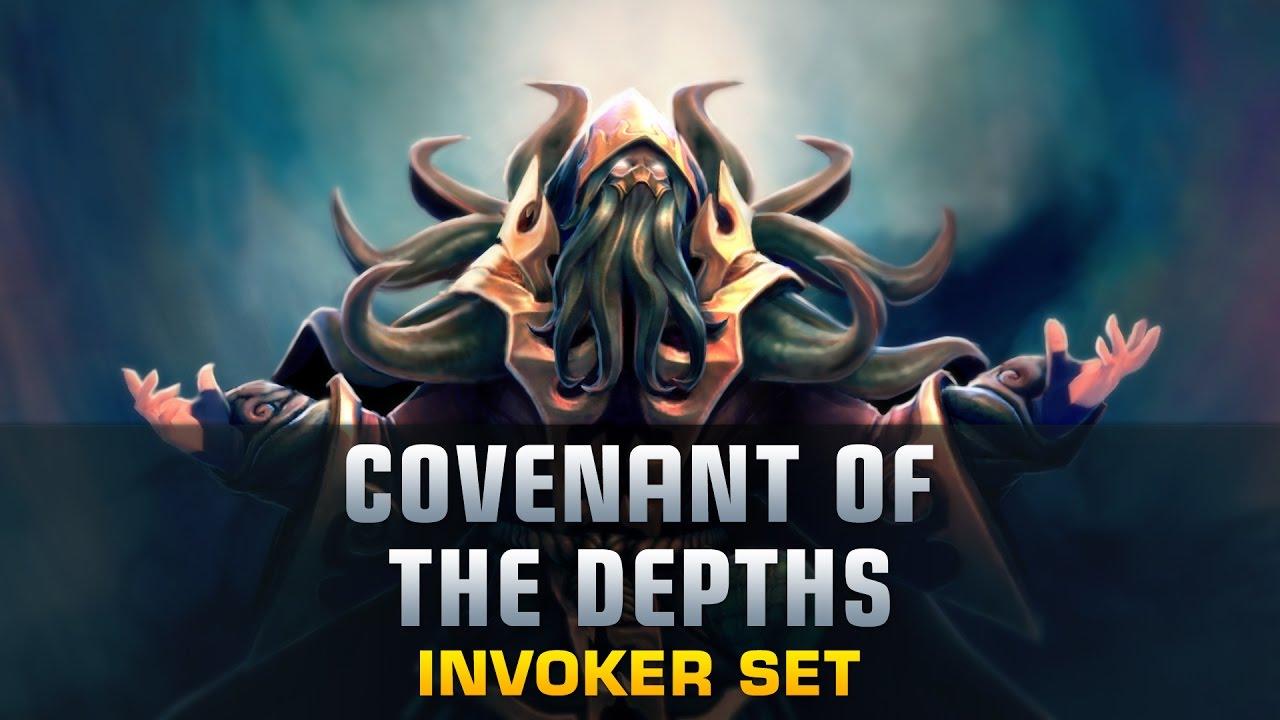 Dota 2 Covenant Of The Depths - Invoker Covenant Of The Depths , HD Wallpaper & Backgrounds