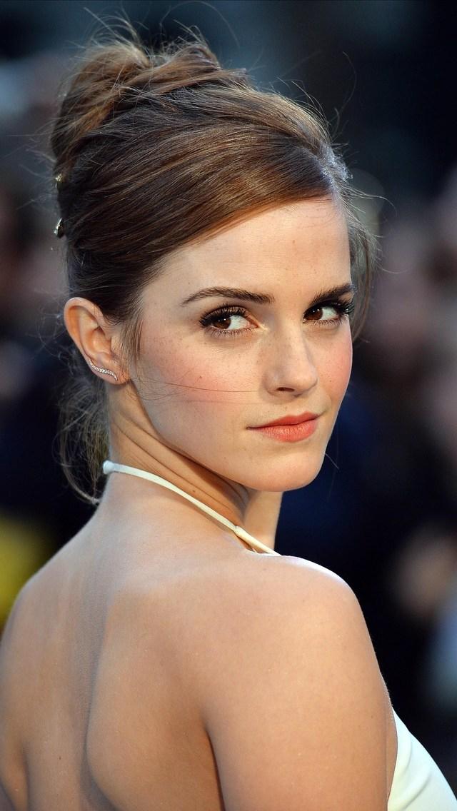 640×1136 Emma Watson In White Dress Iphone 55c5sse - Emma Watson , HD Wallpaper & Backgrounds