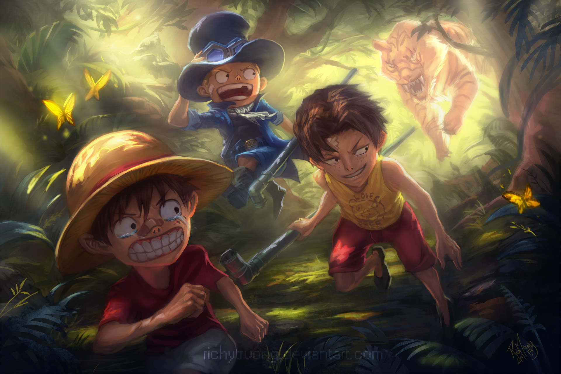 Ace And Luffy 248570 Hd Wallpaper Backgrounds Download