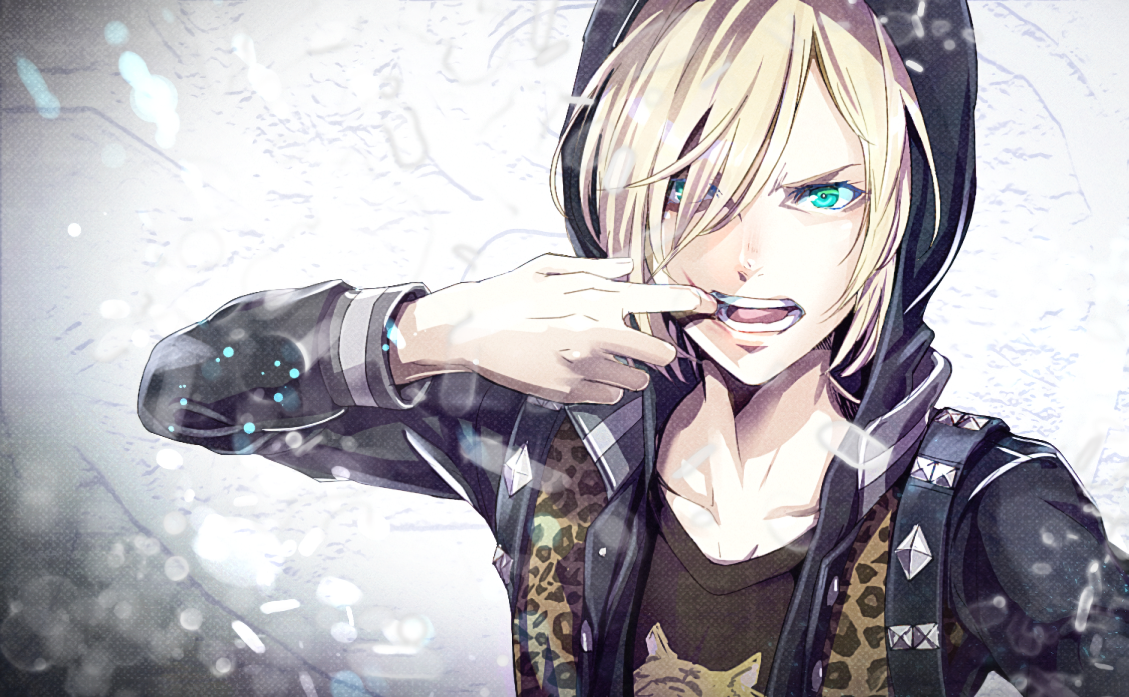 Hd Wallpaper - Yuri On Ice Yurio , HD Wallpaper & Backgrounds