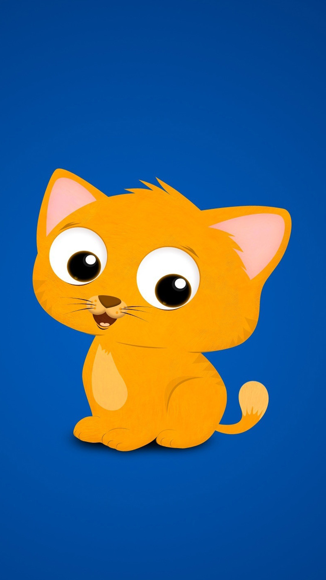 Cartoon Kitten Wallpaper Cartoon Wallpaper For Mobile 2401662 Hd Wallpaper Backgrounds Download