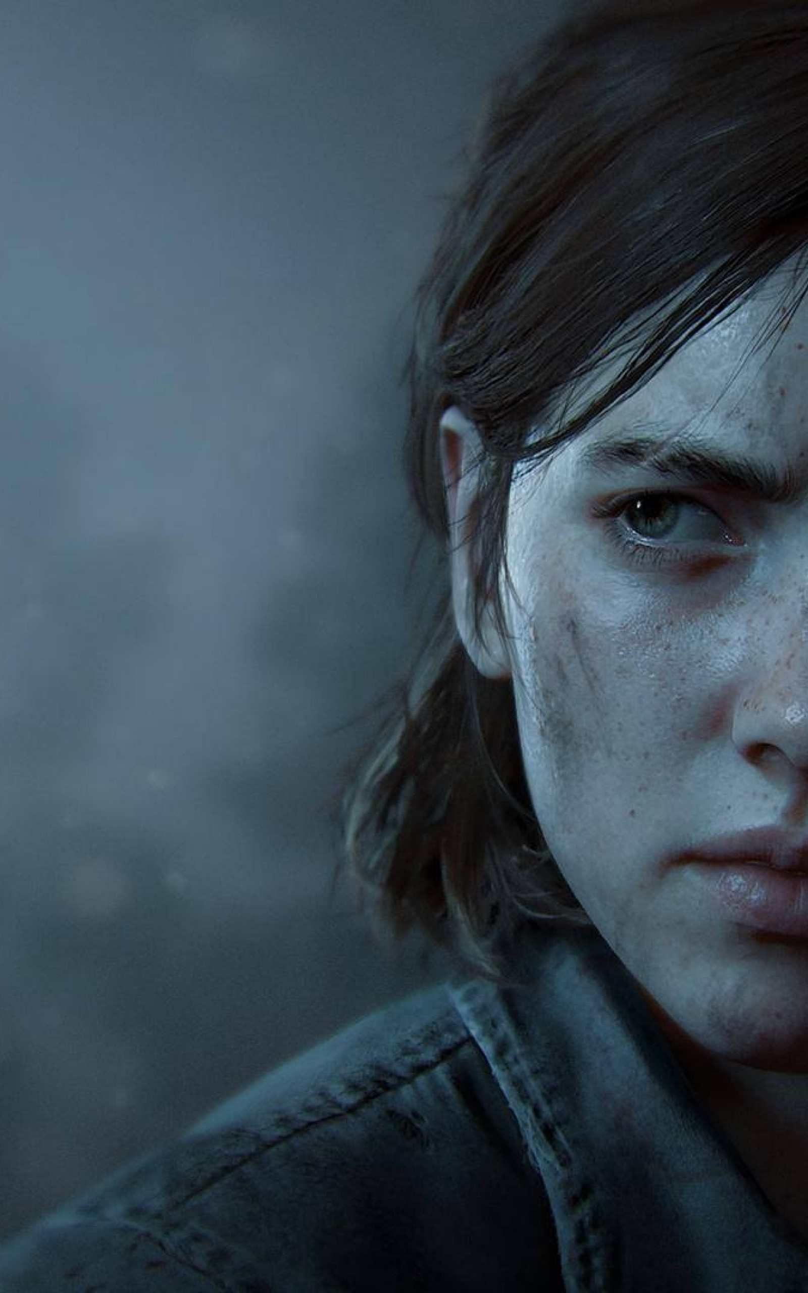 The Last Of Us Part 2 Ellie Face Portrait Ellie The Last Of Us
