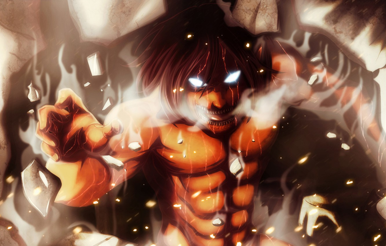 Photo Wallpaper Anime Art Titan Shingeki No Kyojin Shingeki No Kyojin Wallpaper Titan 2403864 Hd Wallpaper Backgrounds Download