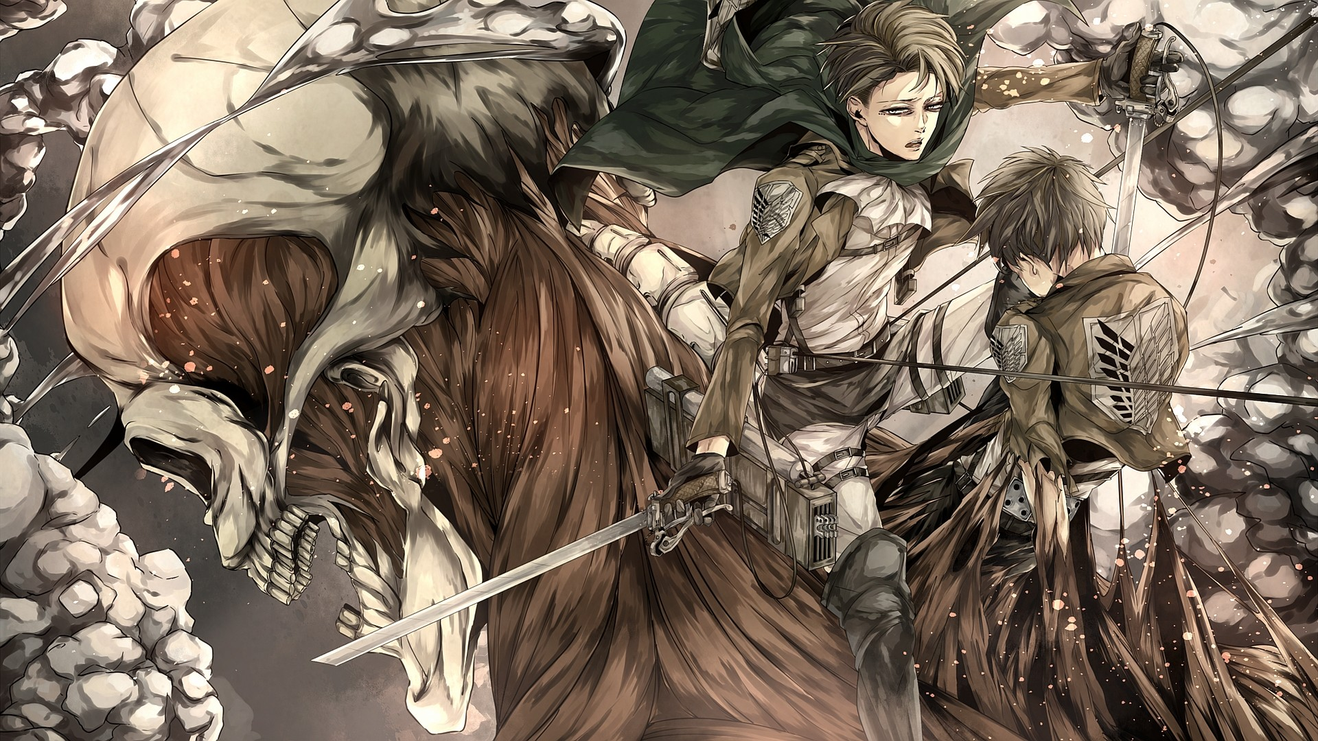 Attack On Titan 125 2404095 Hd Wallpaper Backgrounds Download