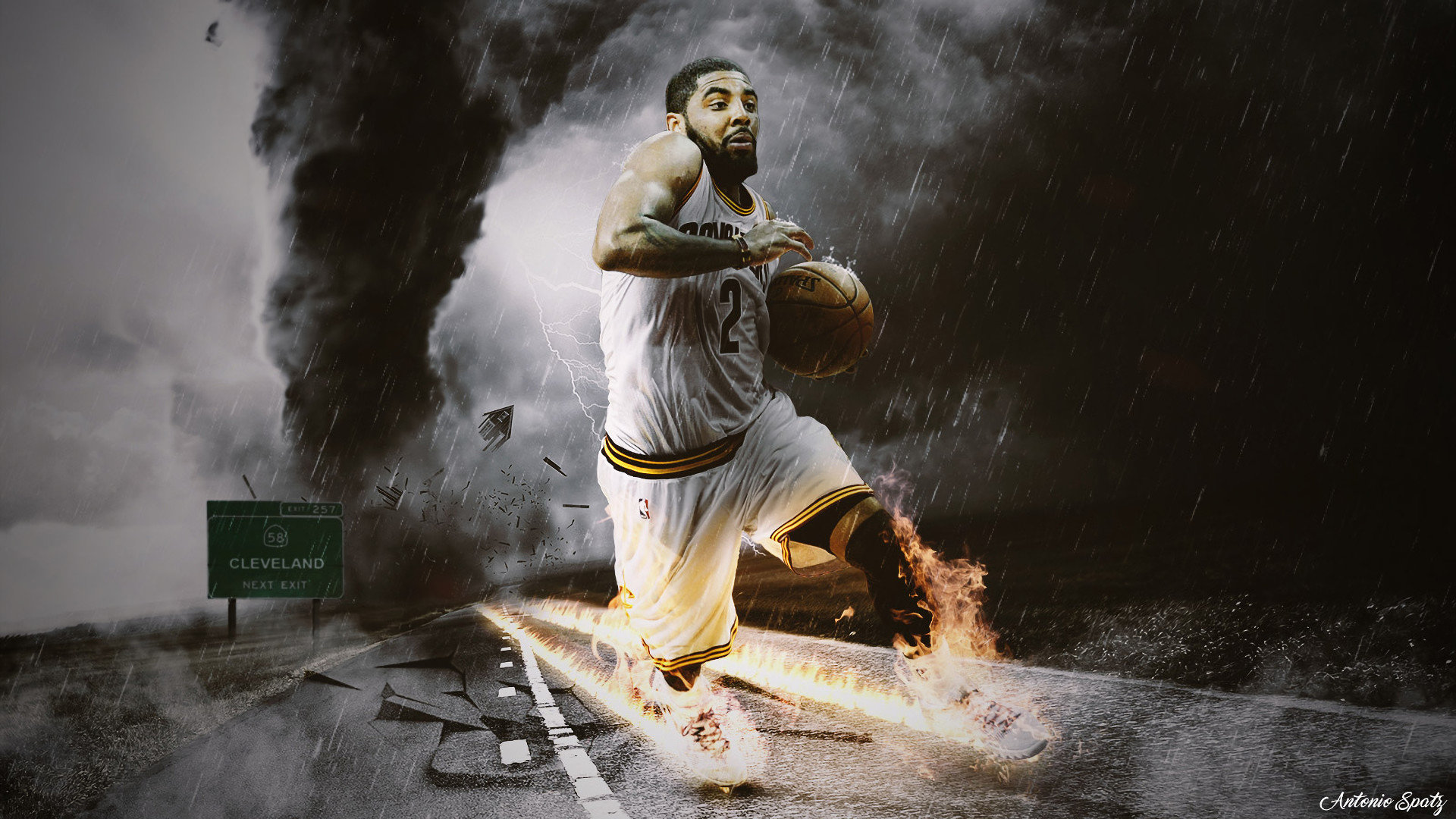 Free Kyrie Irving High Quality Wallpaper Id - Kyrie Irving Mix , HD Wallpaper & Backgrounds