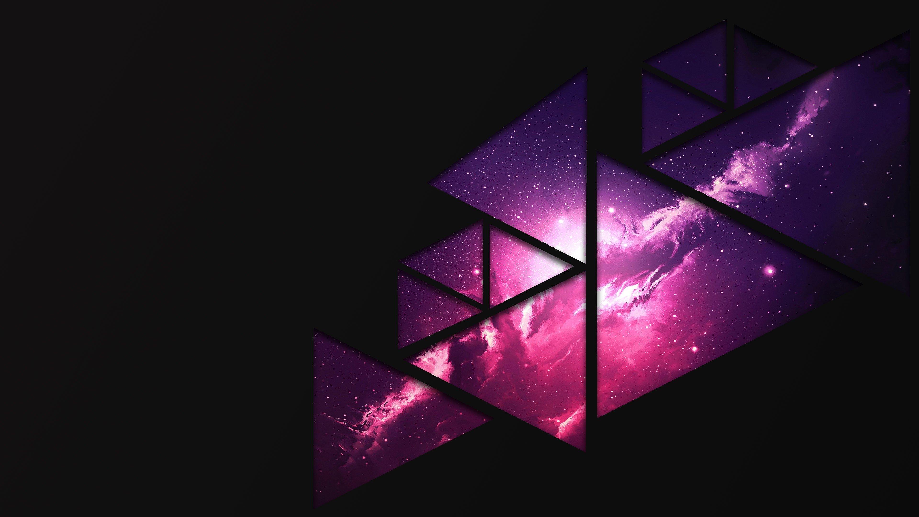 Fractal Space Wallpaper - Space Wallpaper 8k Purple , HD Wallpaper & Backgrounds