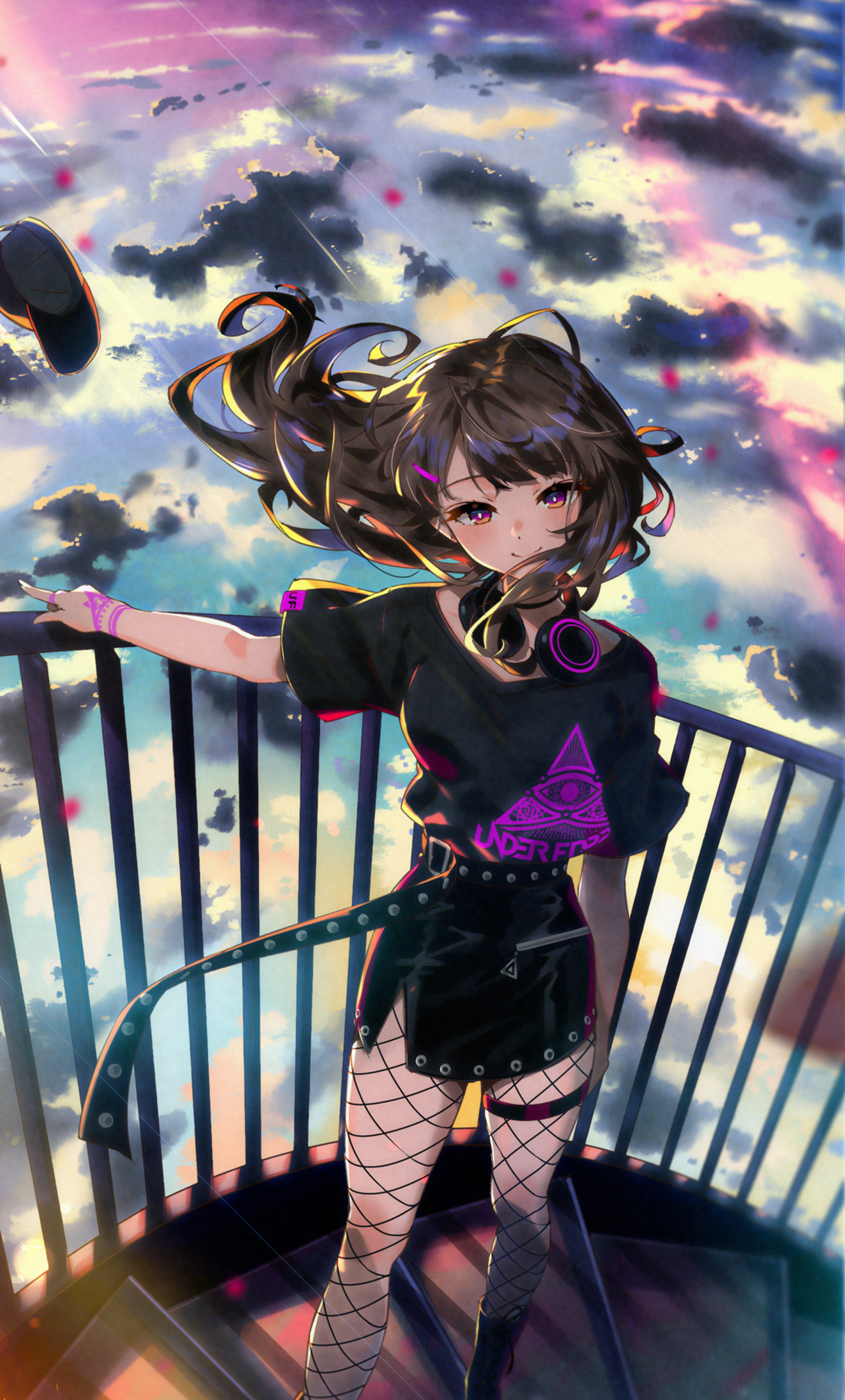 Iphone 11 Wallpaper Anime Girl Blue 4k Hd Download - Anime Girl Wallpaper 4k Iphone , HD Wallpaper & Backgrounds