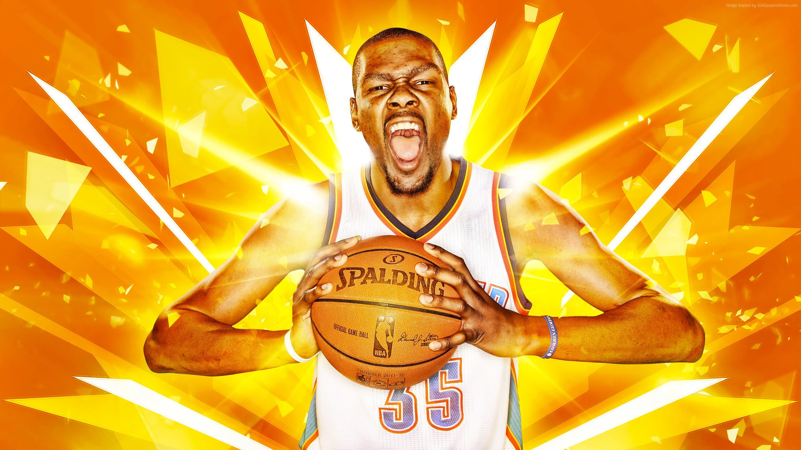 Kevin Durant Golden State Warriors Basketball Nba Wqhd - Kevin Durant Backgrounds , HD Wallpaper & Backgrounds