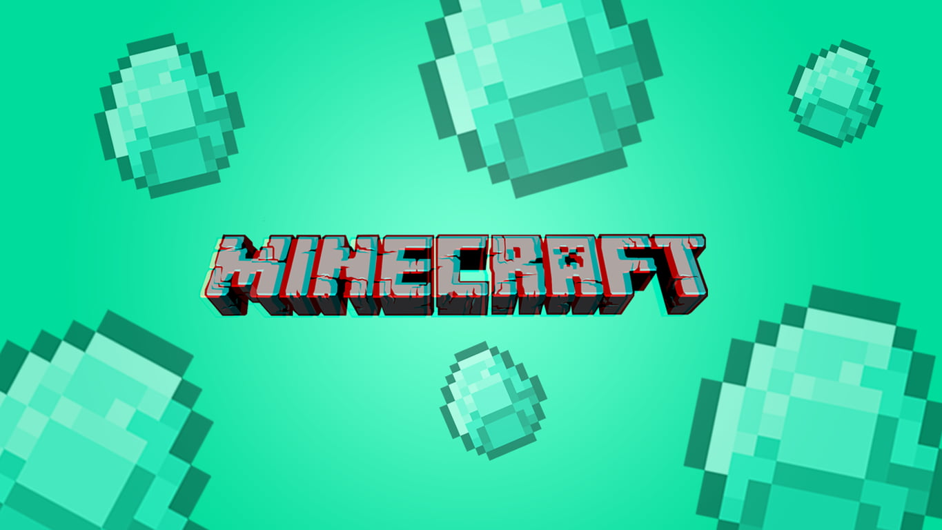 Diamonds Minecraft Wallpaper 4k 2416053 Hd Wallpaper Backgrounds Download