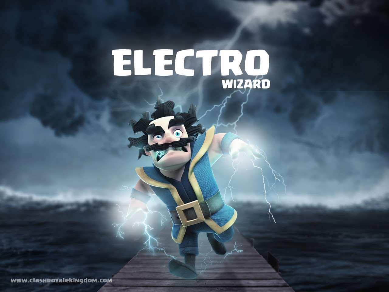 Clash Royale Electro Wizard Clash Royale 2418587 Hd