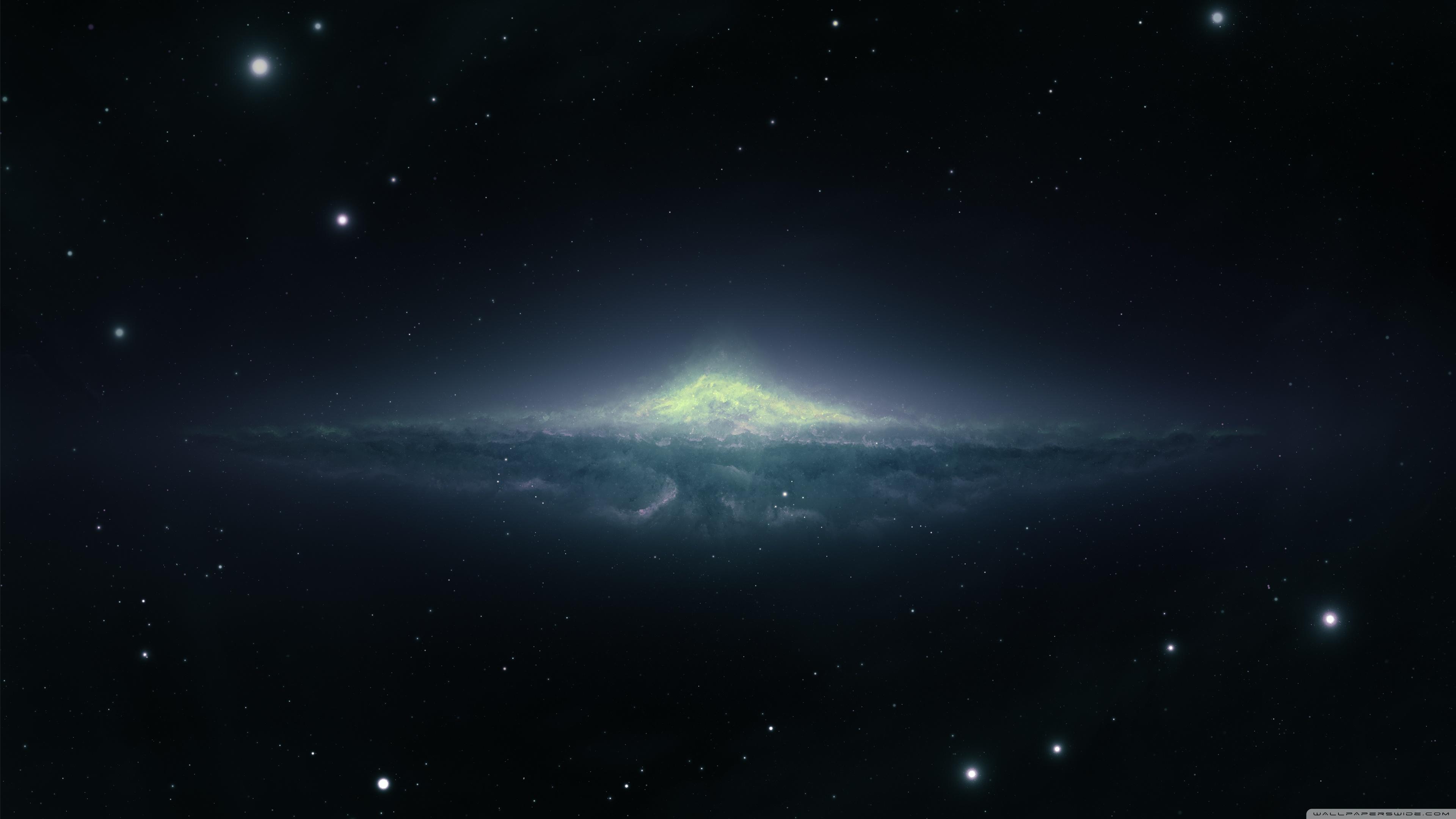 Andromeda Galaxy Uhd Wallpaper - Galaxy 4k Wallpaper For Pc , HD Wallpaper & Backgrounds