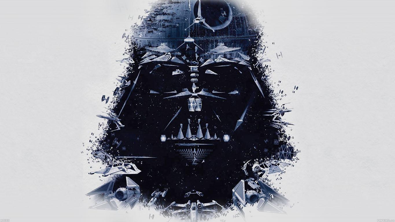 Star Wars Darth Vader Art , HD Wallpaper & Backgrounds