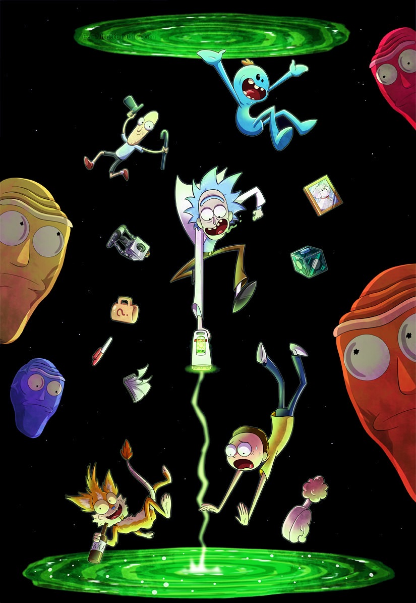 Rick And Morty Wallpaper 4k 2420486 Hd Wallpaper