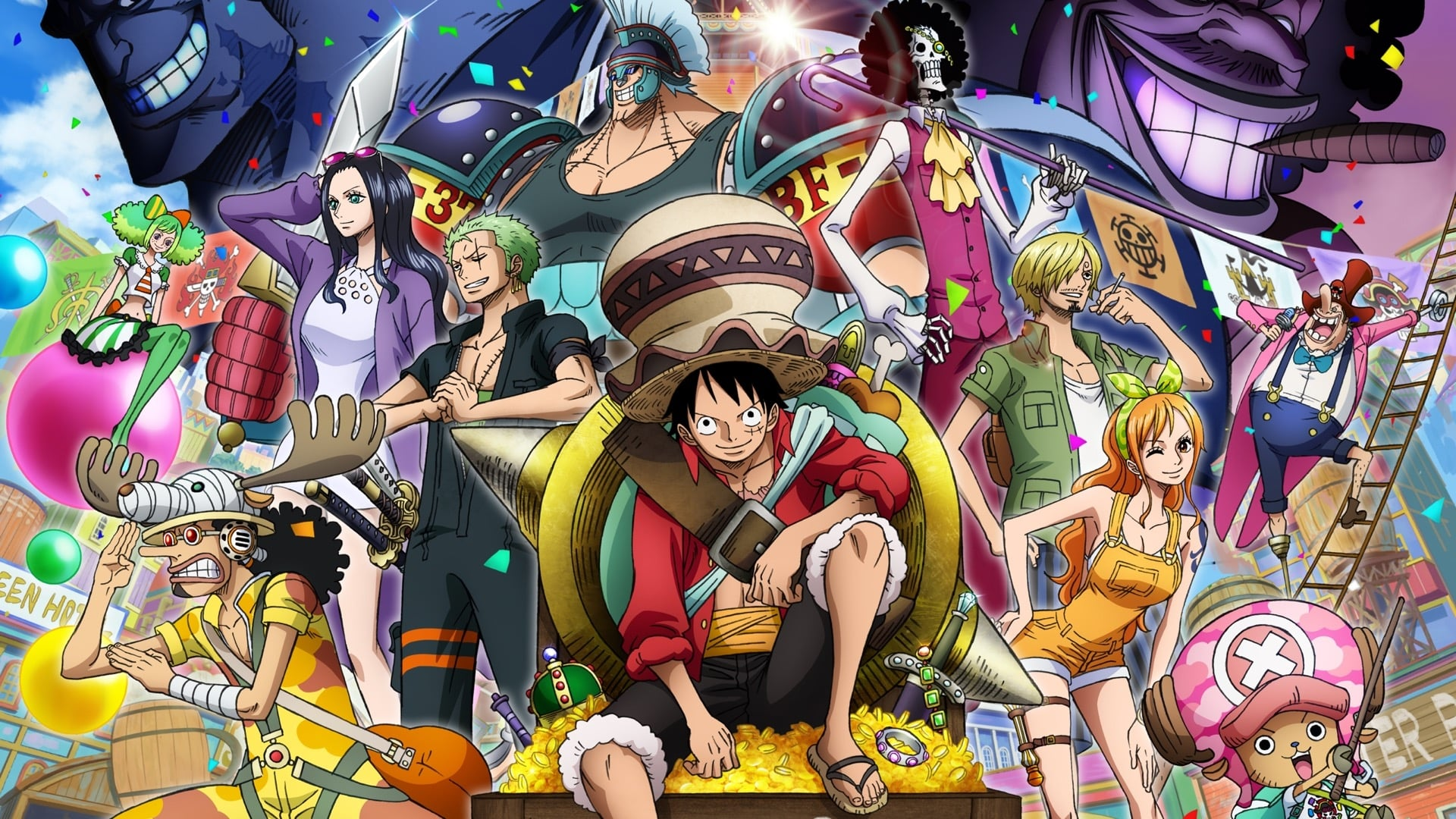 One Piece Stampede Movie 2423329 Hd Wallpaper Backgrounds Download