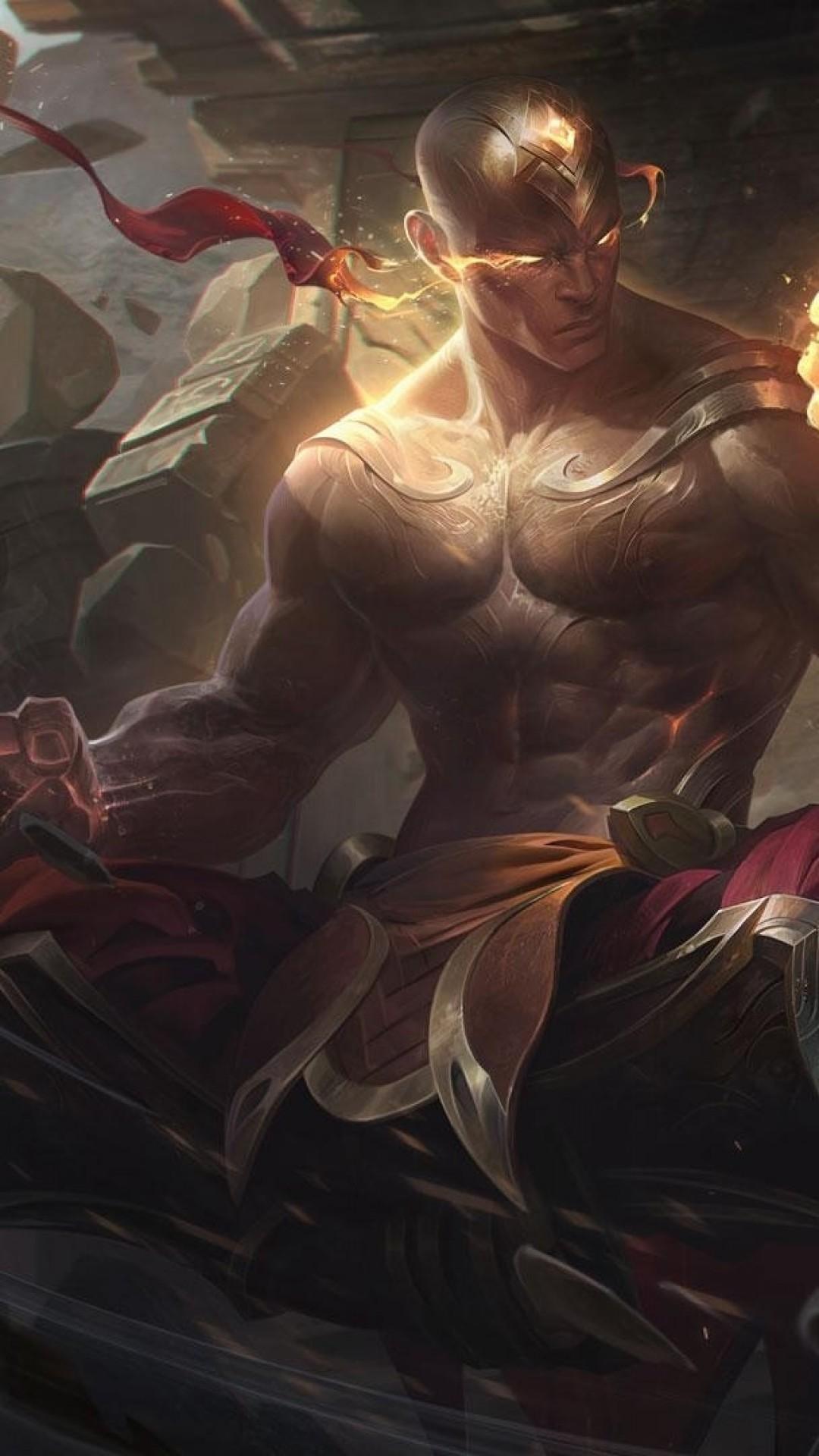 League Of Legends Lee Sin Artwork Fists Data Src Lee Sin