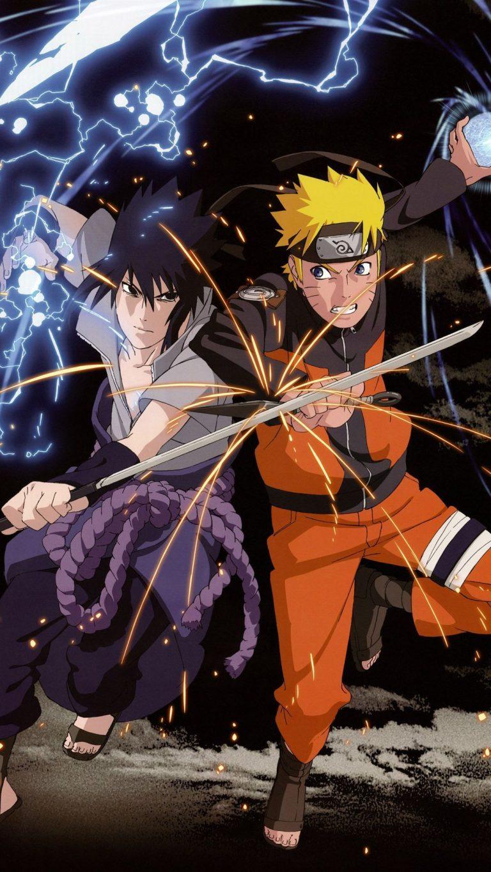 Naruto Sasuke Android Wallpaper Naruto Dan Sasuke Hd 2423506 Hd Wallpaper Backgrounds Download