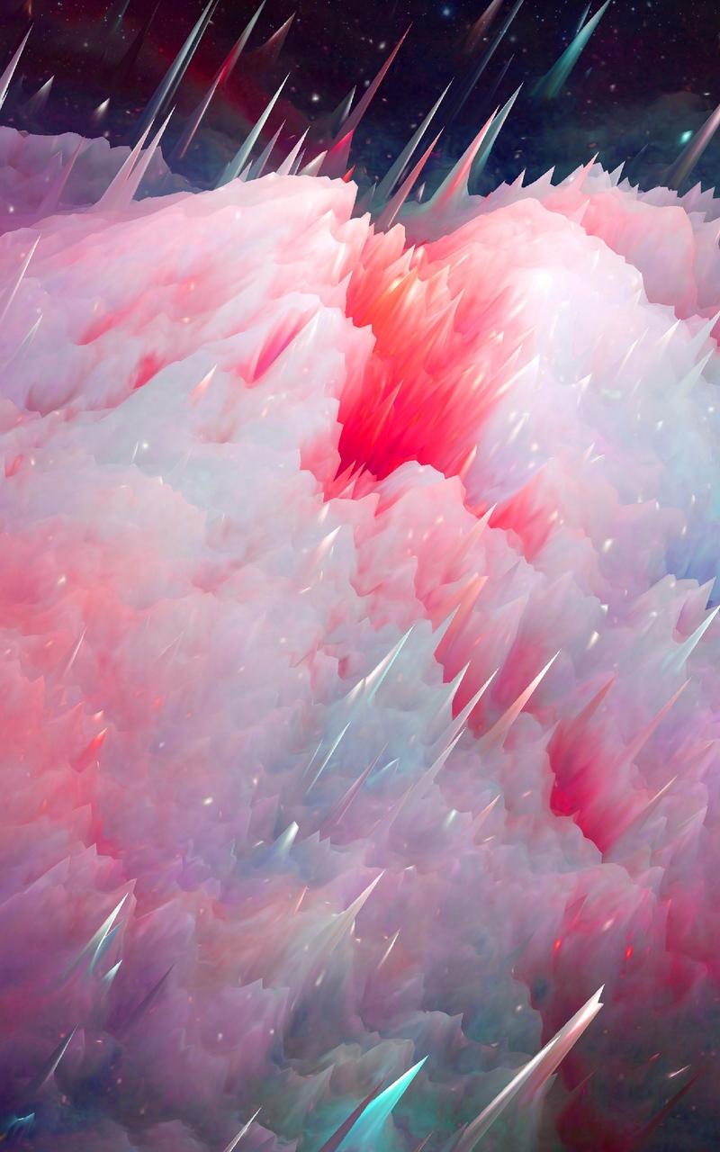 Wallpaper Space Art Nebula Universe Iphone Xs Max
