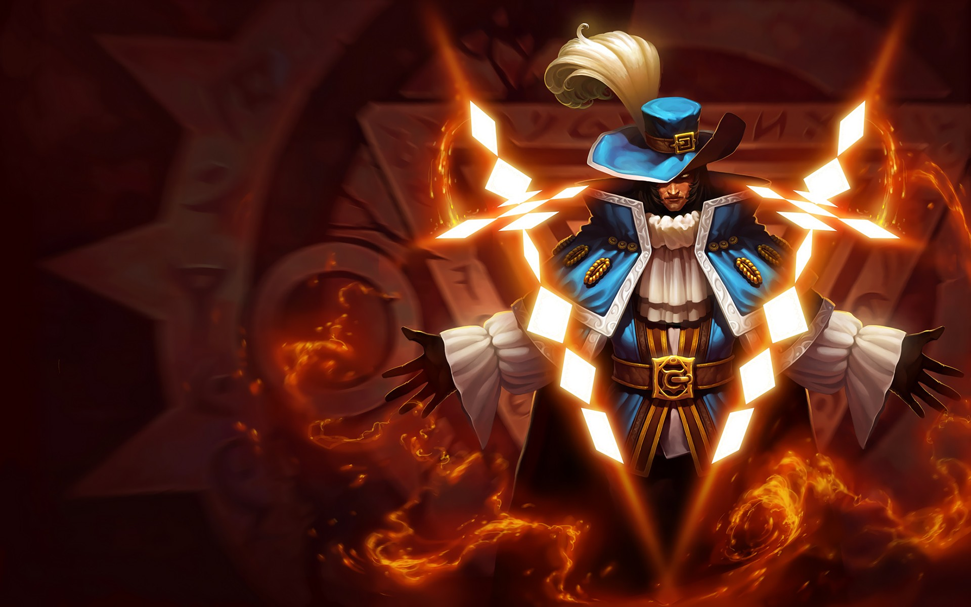 Musketeer Twisted Fate Splash Art League Of Legends Musketeer