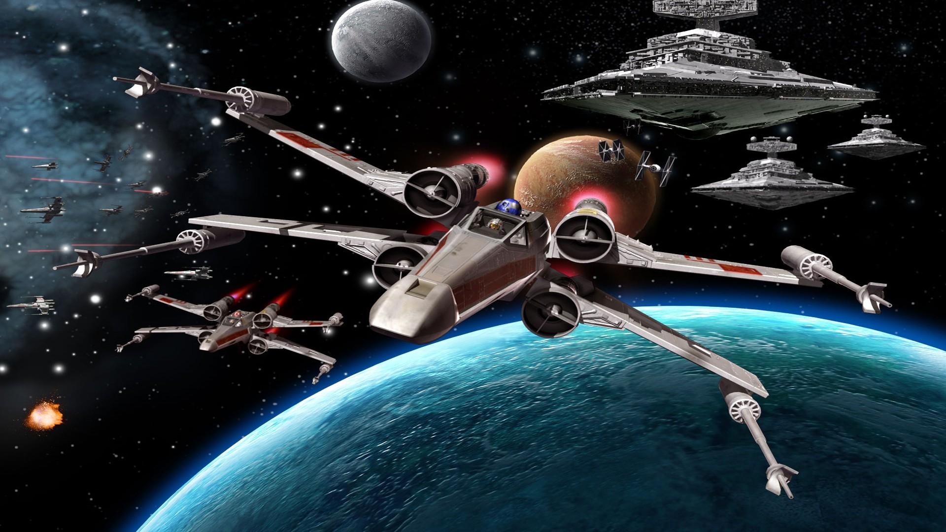 Star Wars Wallpaper 1920x1080 Full Hd 2426909 Hd Wallpaper Backgrounds Download