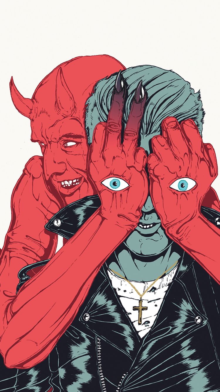 Queens Of The Stone Age Villains 2430668 Hd Wallpaper