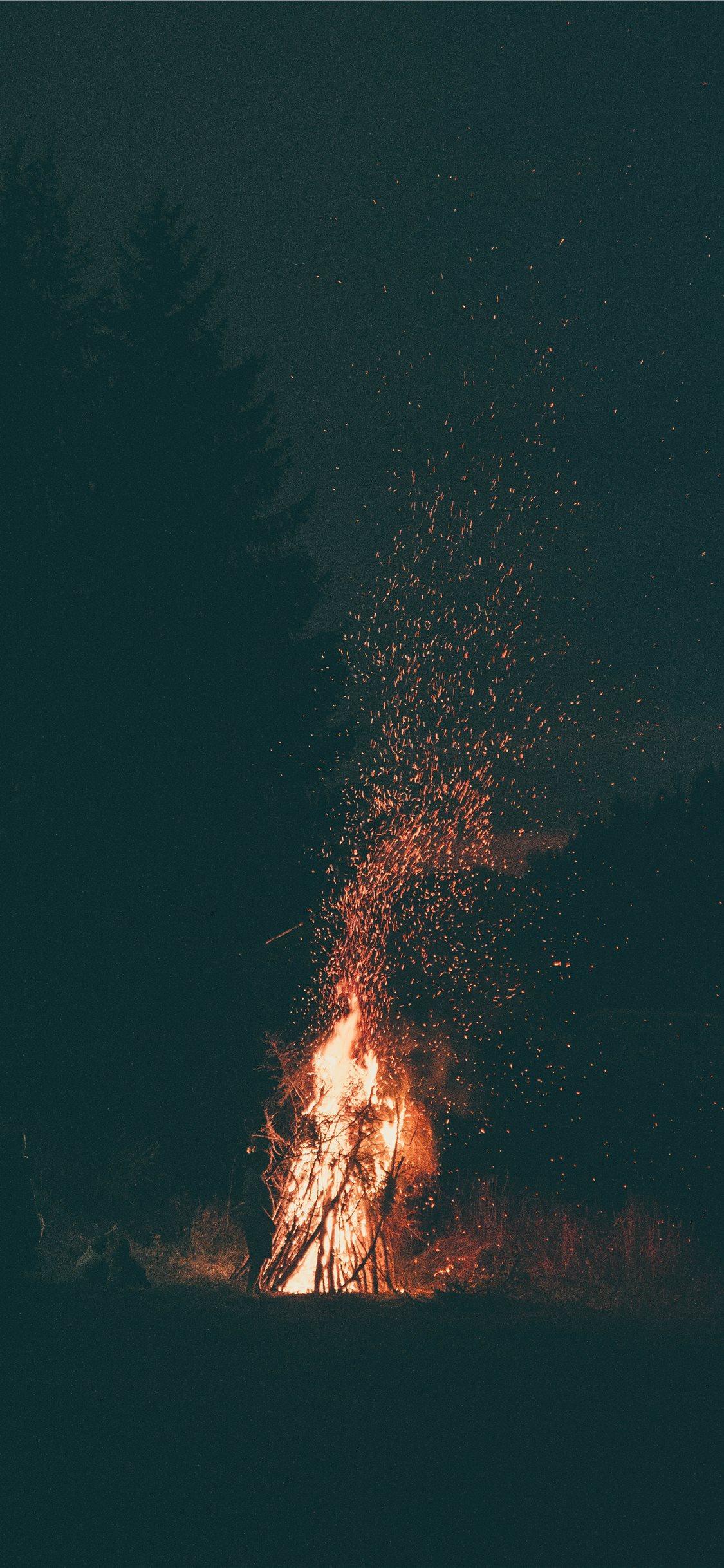 Fire Wallpaper Iphone X , HD Wallpaper & Backgrounds