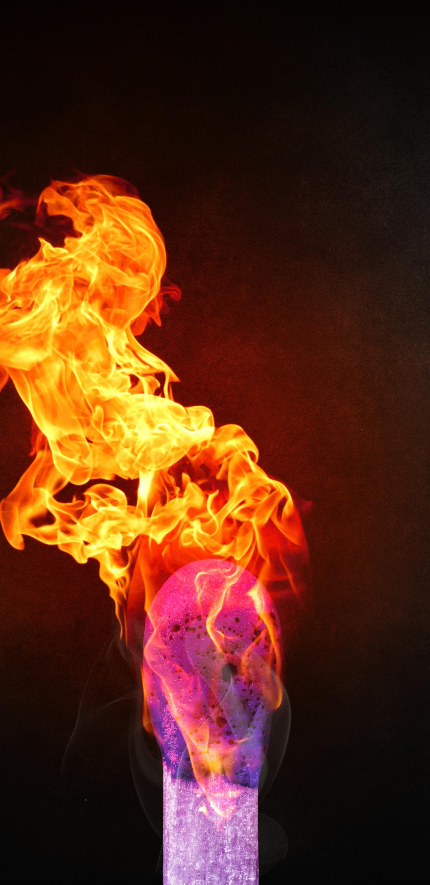 Match On Fire, Digital Art, Dark, Wallpaper - Fire Wallpaper 4k , HD Wallpaper & Backgrounds