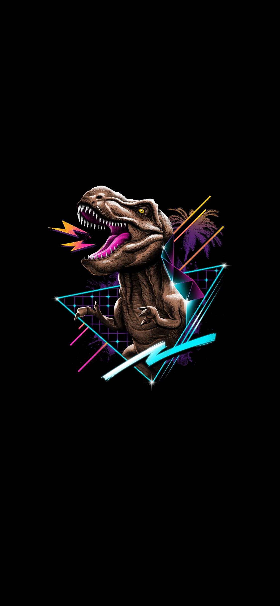 243 2439566 t rex retro art dinosaur minimal wallpaper retro