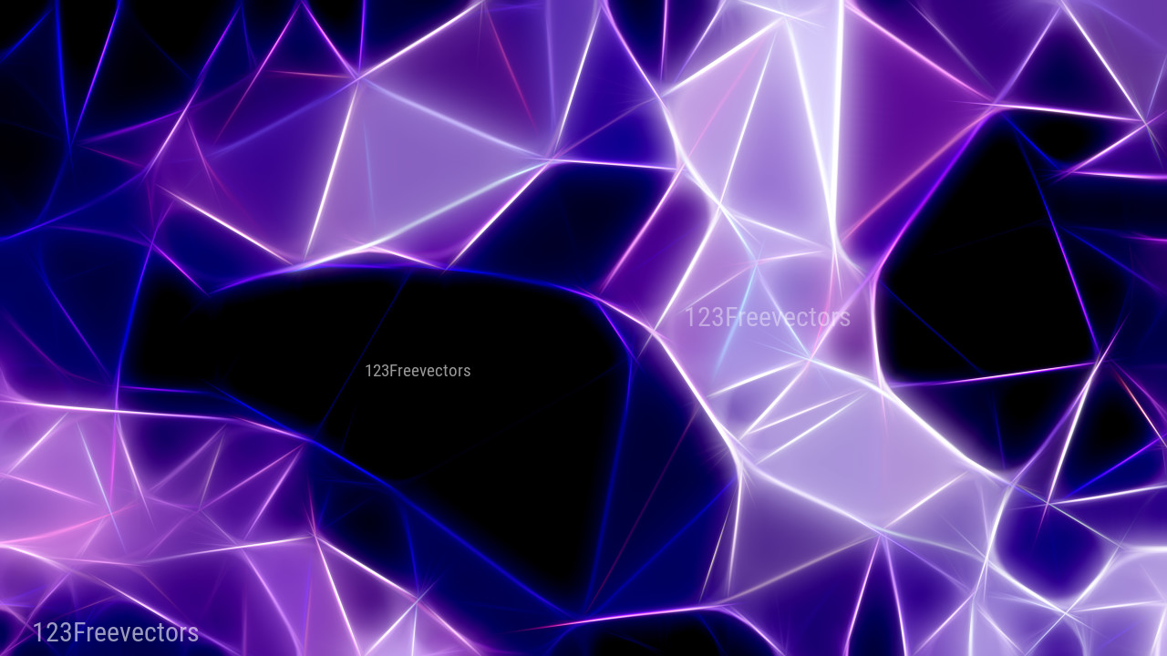 Abstract Black Blue And Purple Fractal Wallpaper Graphic Blue