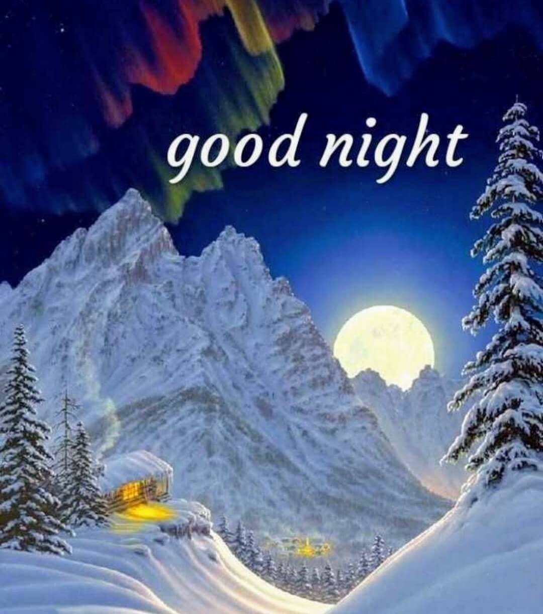 Good Night Image With Love Couple Good Night Hd Good Good Night Winter Images Hd 2448760 Hd Wallpaper Backgrounds Download