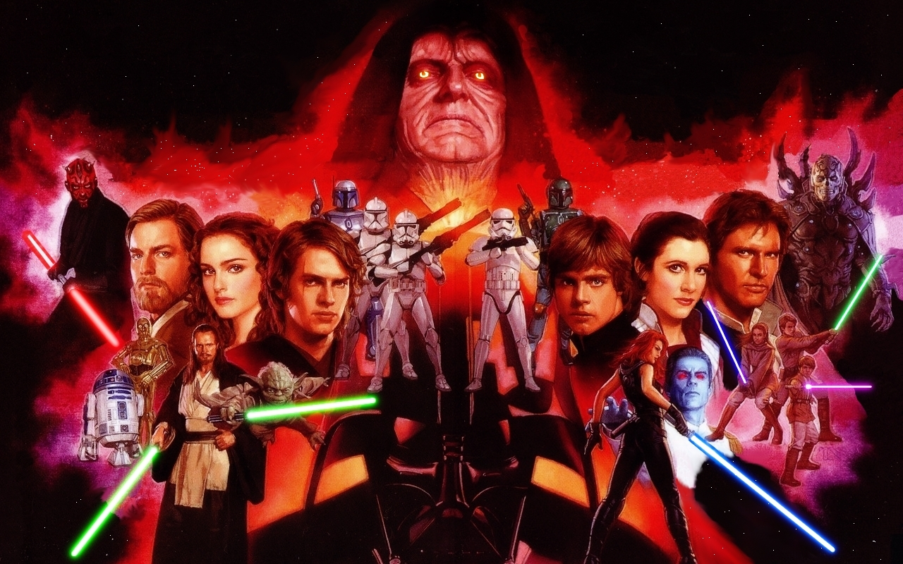 245 2452809 wallpaper sw characters star wars characters background