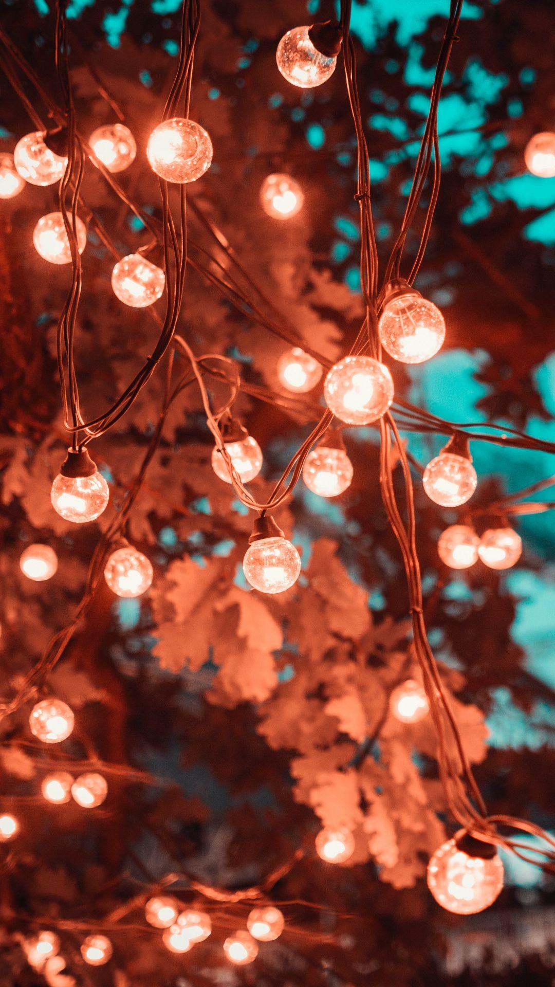 Christmas Lights Lockscreen - Iphone Light Wallpaper Hd , HD Wallpaper & Backgrounds