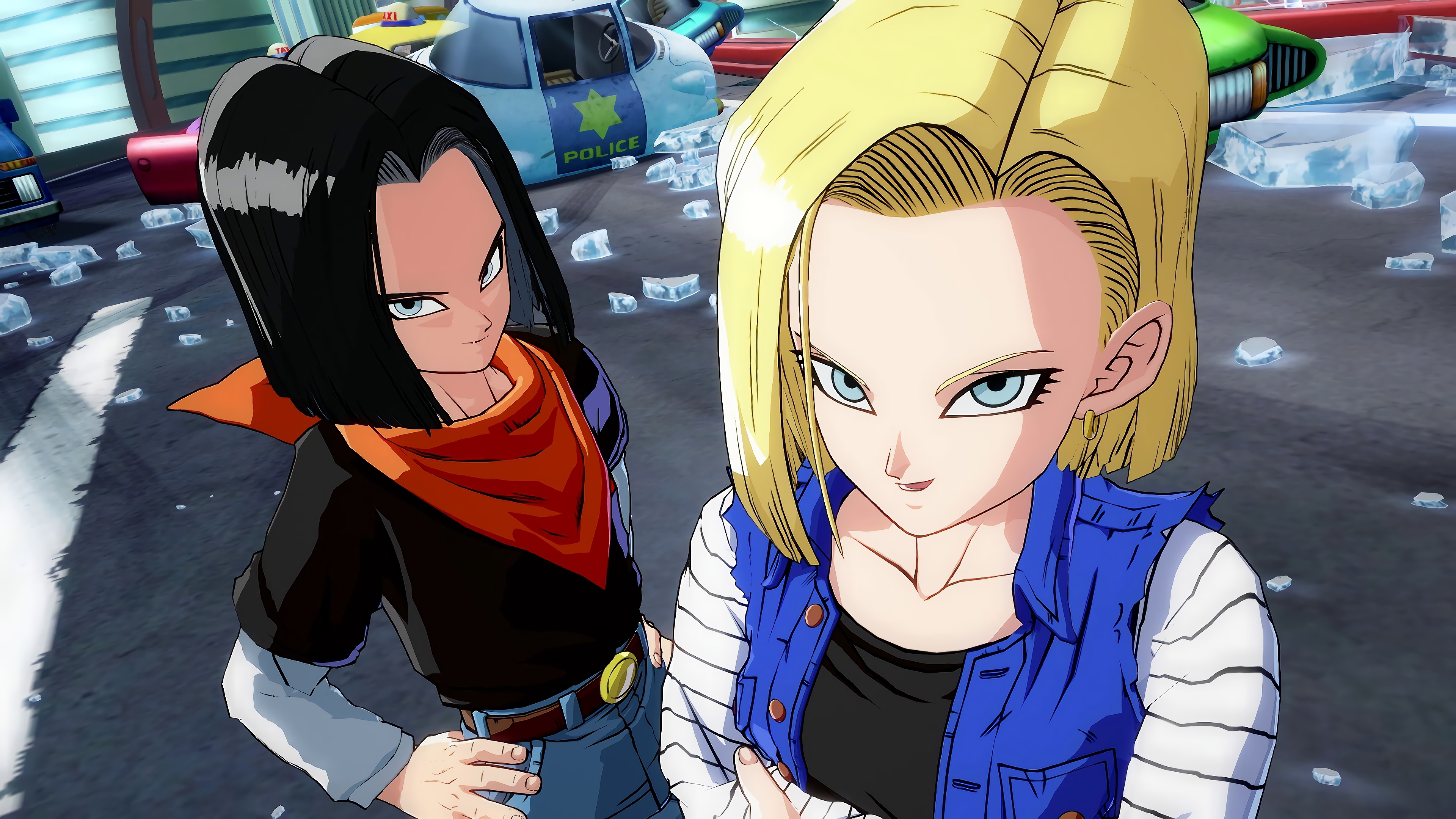 Android 17 Dragon Ball Fighterz 2461538 Hd Wallpaper