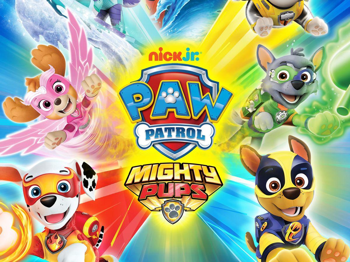 Paw Patrol Mighty Pups (#2461656) - HD Wallpaper ...