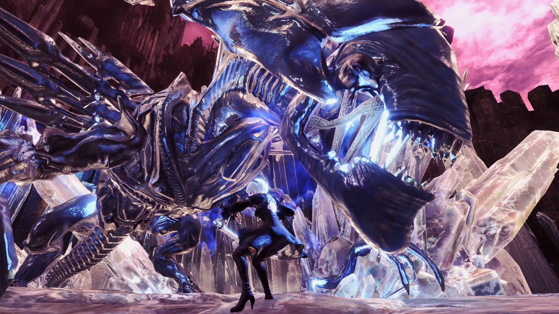 Monster Hunter World Xenomorph 2467203 Hd Wallpaper