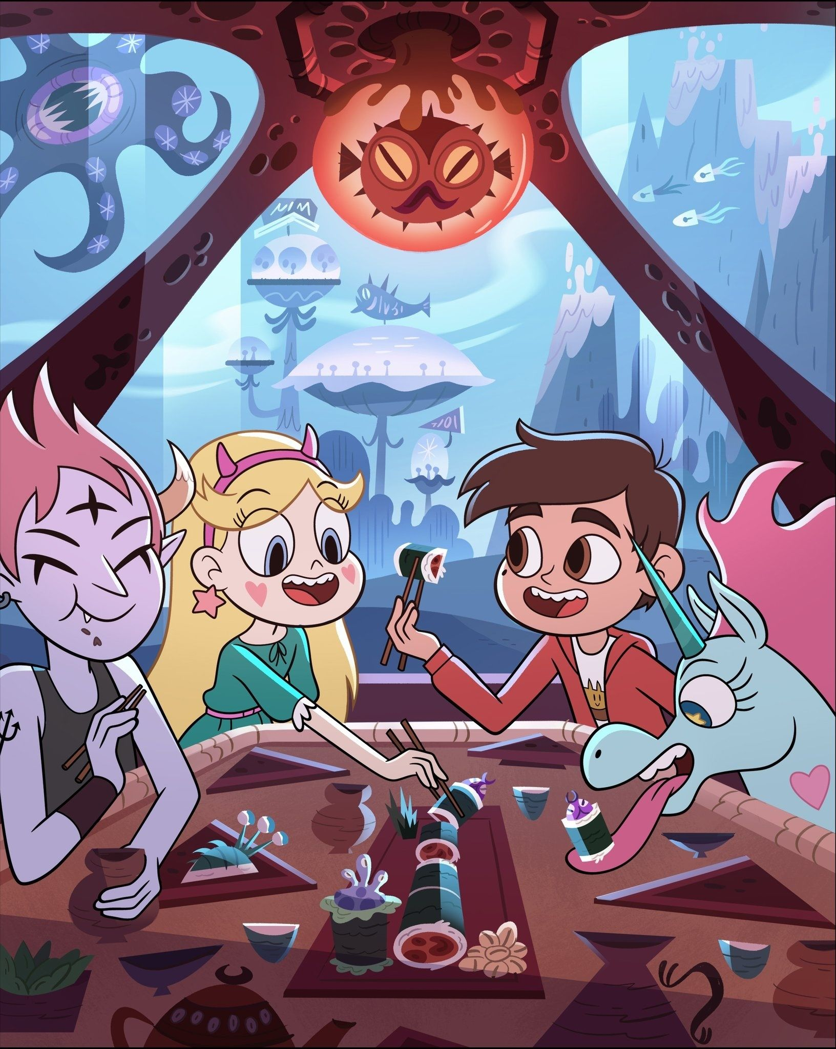 Star Vs The Forces Of Evil Season 4 2470038 Hd Wallpaper