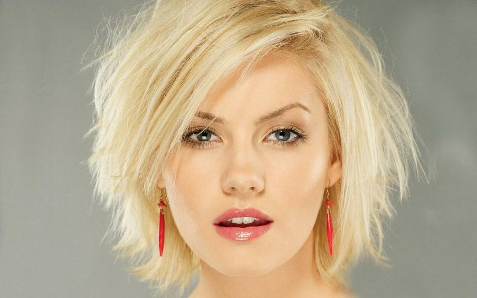 Beautiful Girl, Blonde, Face, Short Hair, Portrait - Elisha Cuthbert Images Hd , HD Wallpaper & Backgrounds