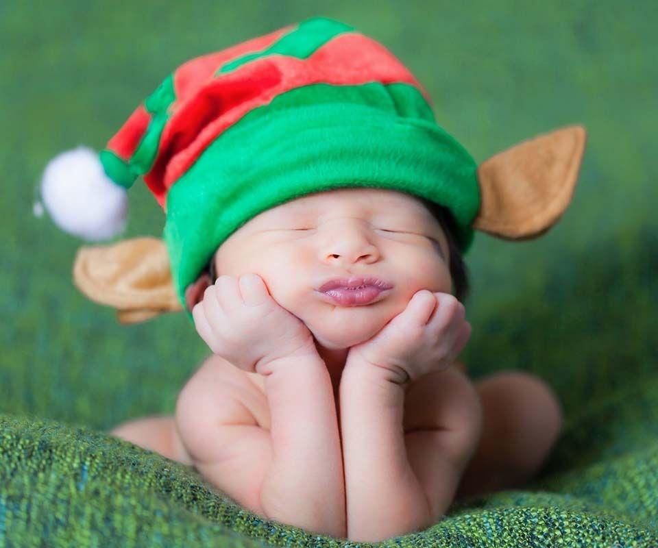 Funny Baby Christmas Wallpaper For Desktop Funny Sweet Good