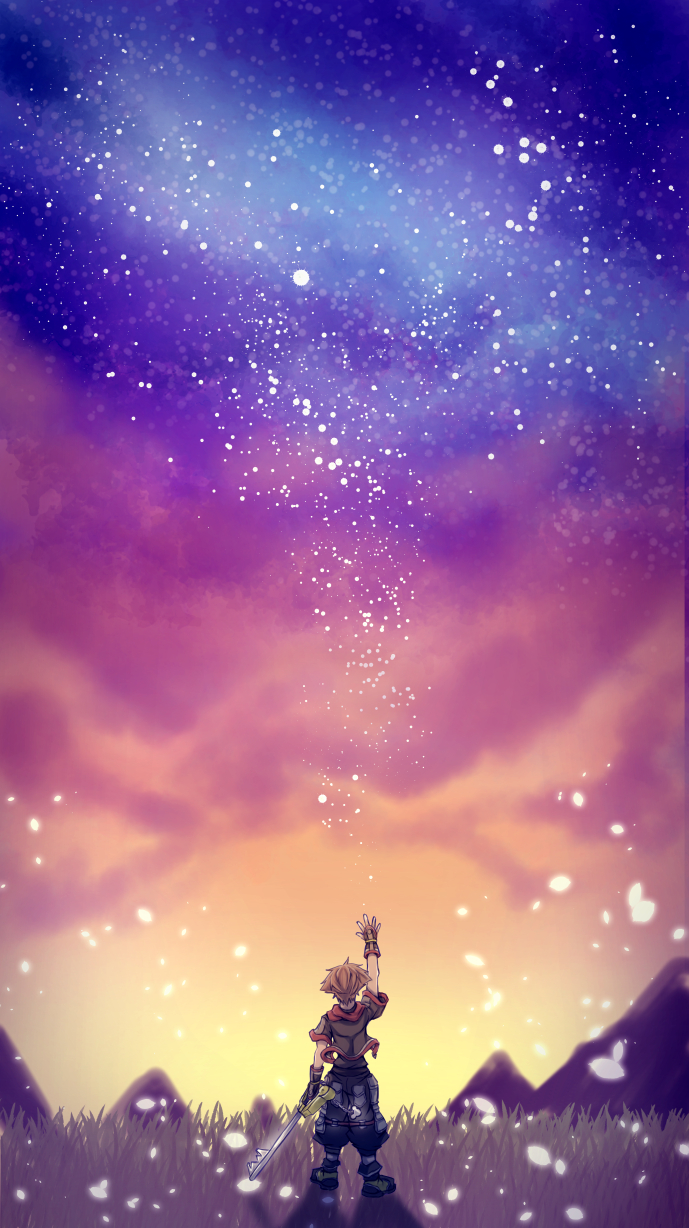 Sora Kingdom Hearts Phone , HD Wallpaper & Backgrounds
