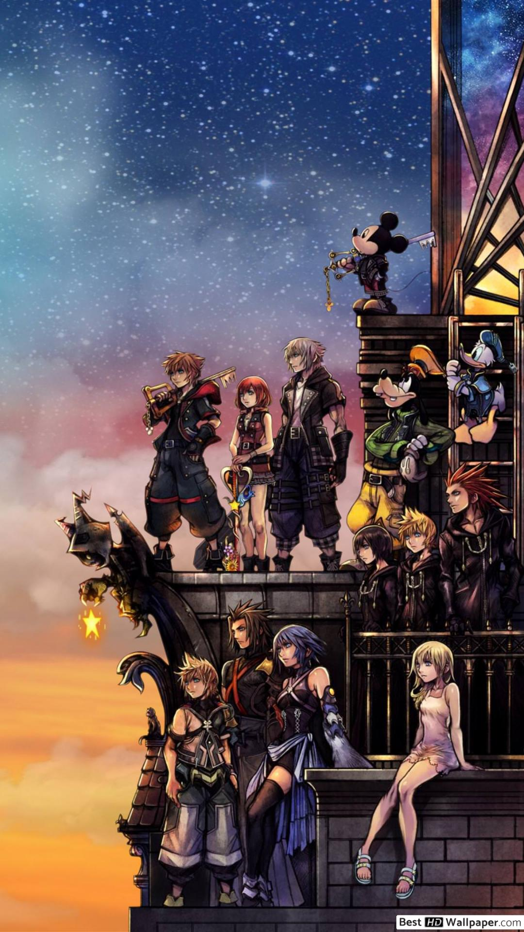 1080 X 1920 Wallpaper Kingdom Hearts , HD Wallpaper & Backgrounds