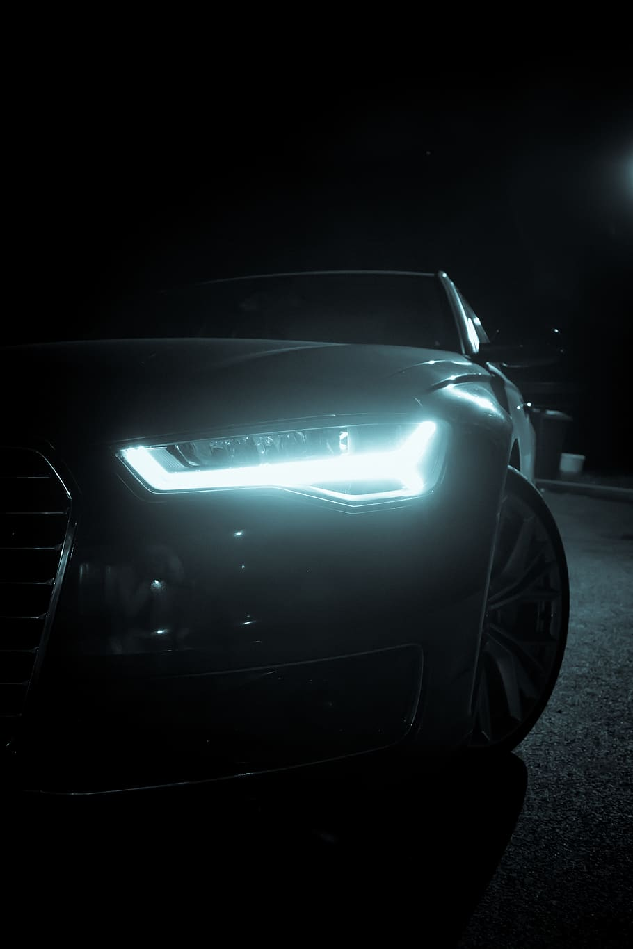Night Vision, Led Light, Audi Rs6, A6, Audi A6, Car, , HD Wallpaper & Backgrounds
