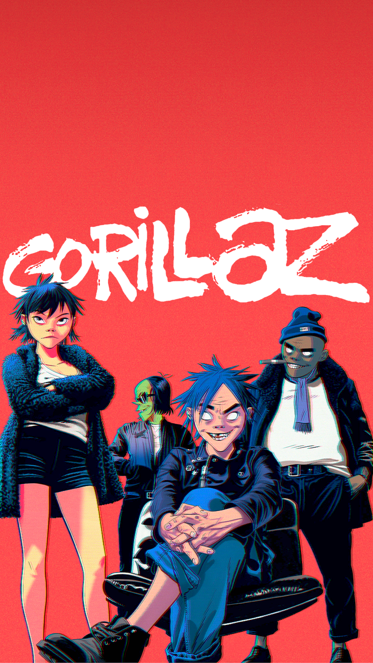 Gorillaz The Now Now , HD Wallpaper & Backgrounds