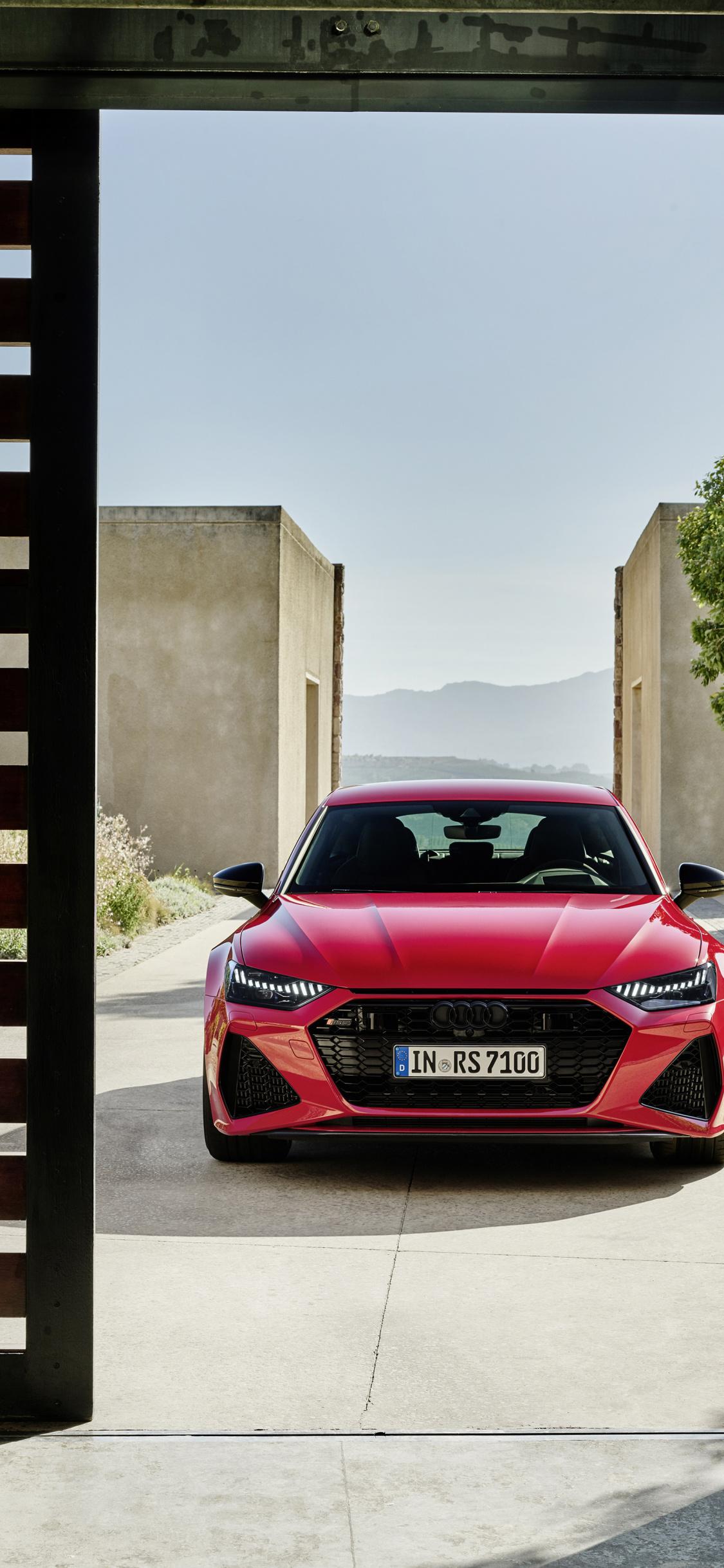 Audi Rs7 Sedan Front View 2019 Wallpaper 2478670 Hd Wallpaper Backgrounds Download
