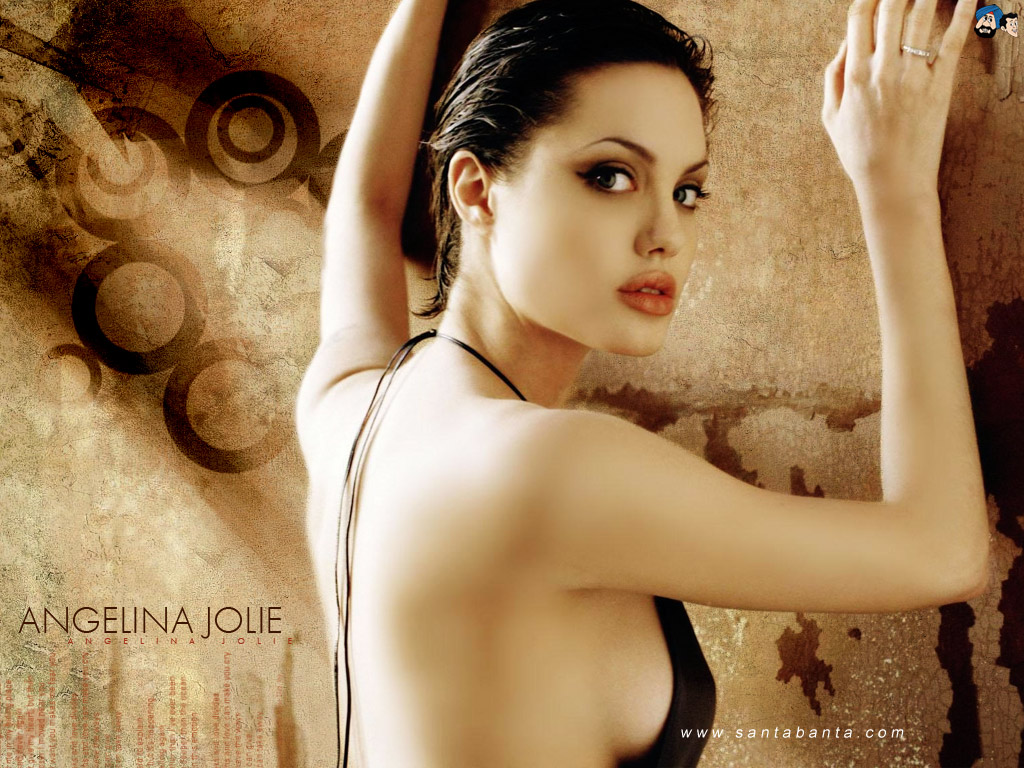 Angelina Jolie - Hottest Actress Hollywood Top 10 , HD Wallpaper & Backgrounds