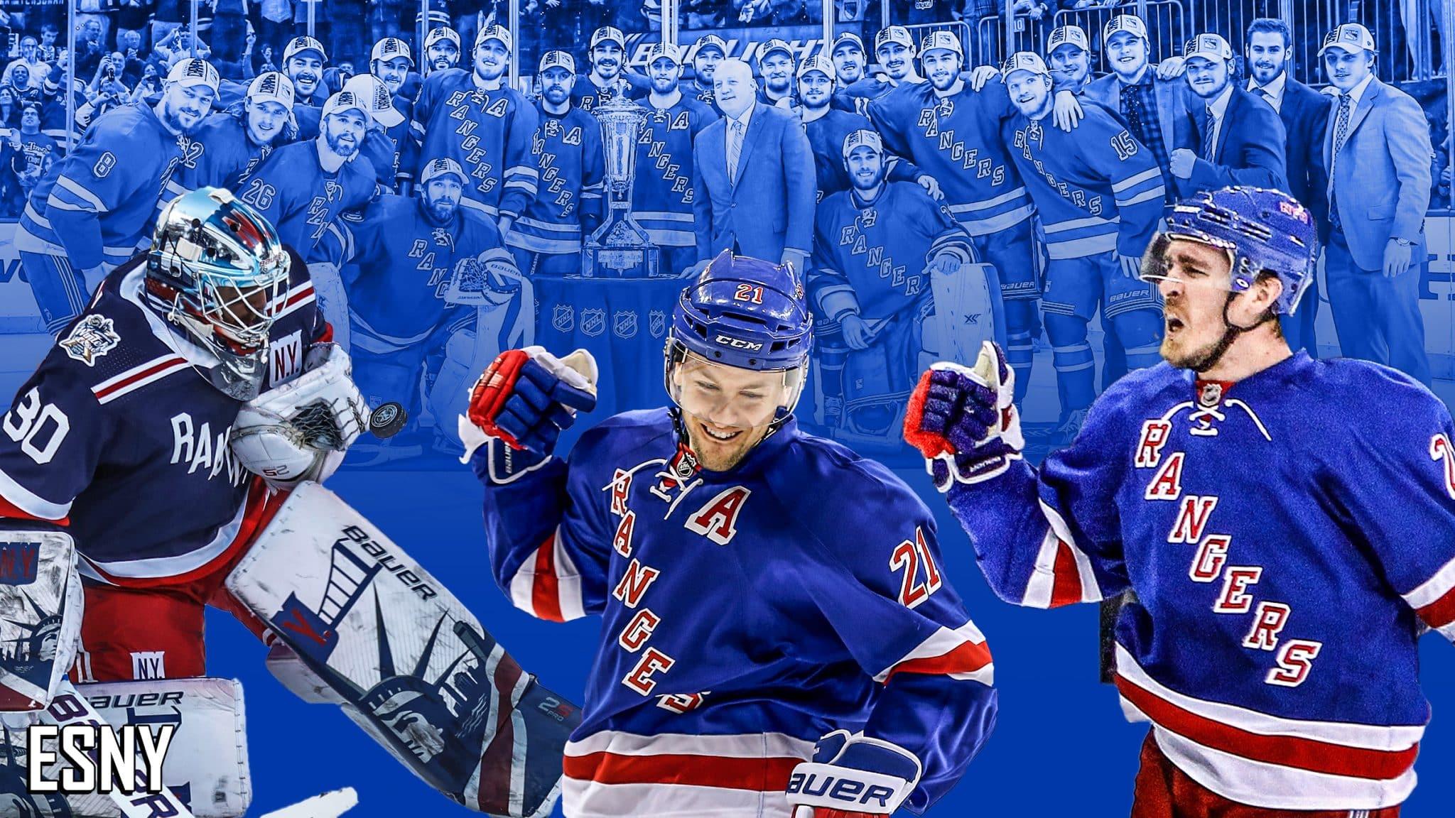 Henrik Lundqvist, Derek Stepan, Ryan Mcdonagh, 2014 - New York Rangers , HD Wallpaper & Backgrounds