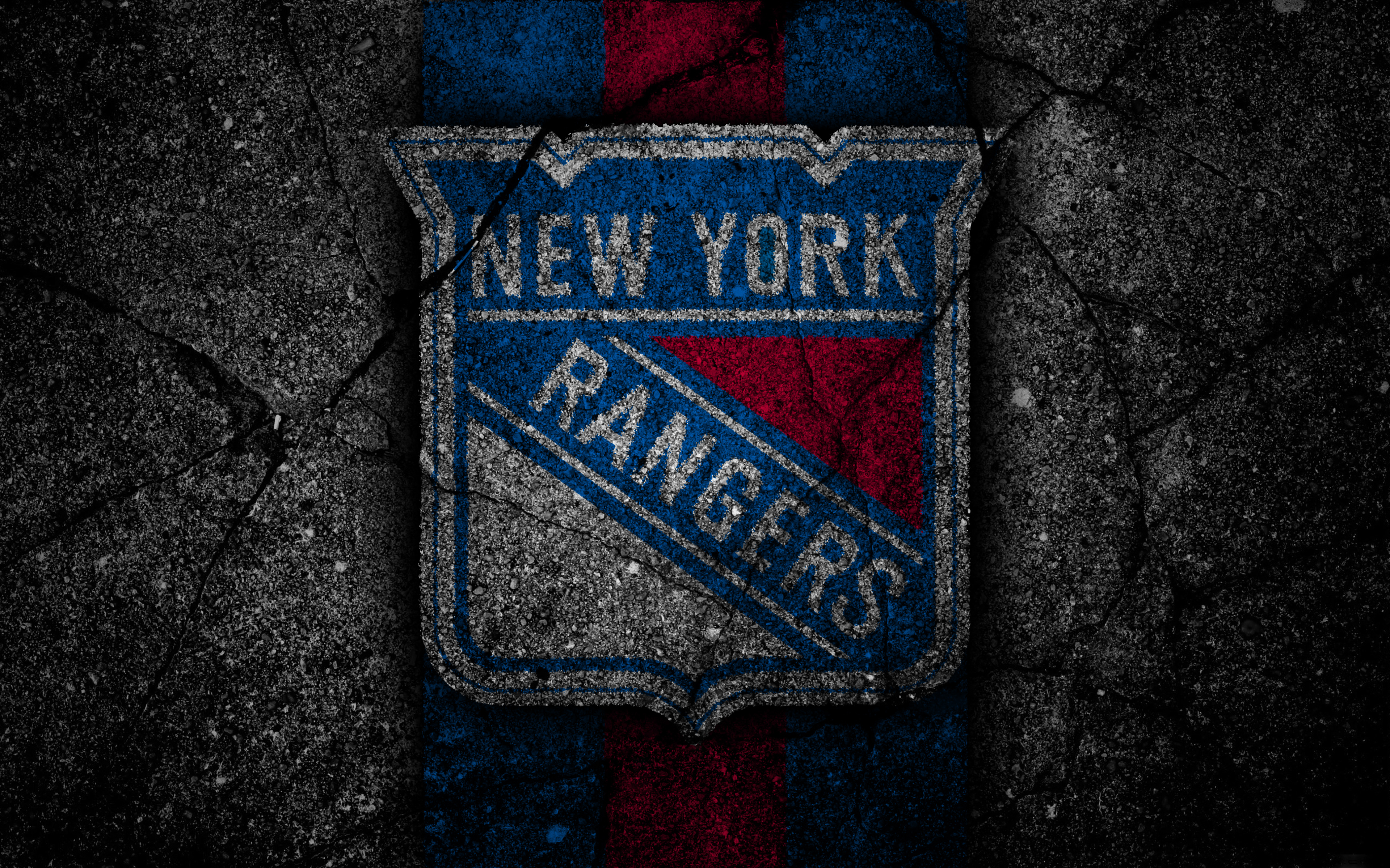 New York Rangers Blue Logo , HD Wallpaper & Backgrounds