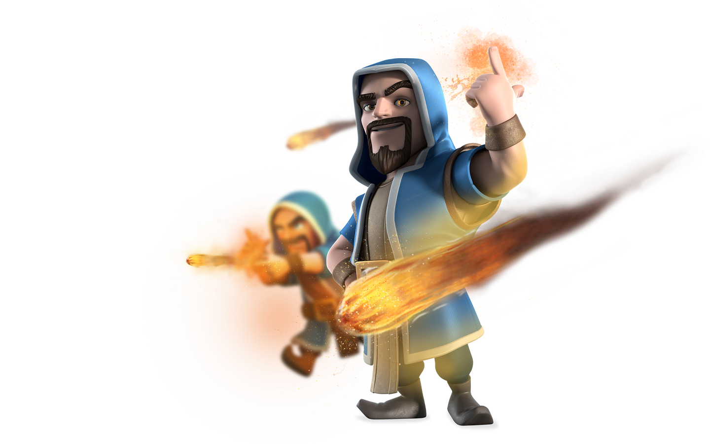 Clash Of Clans Wizard Transparent Png - Clash Of Clans Png , HD Wallpaper & Backgrounds